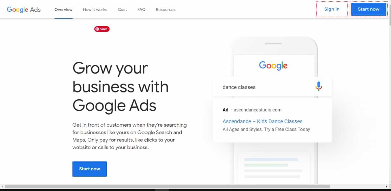 Google Ads Login
